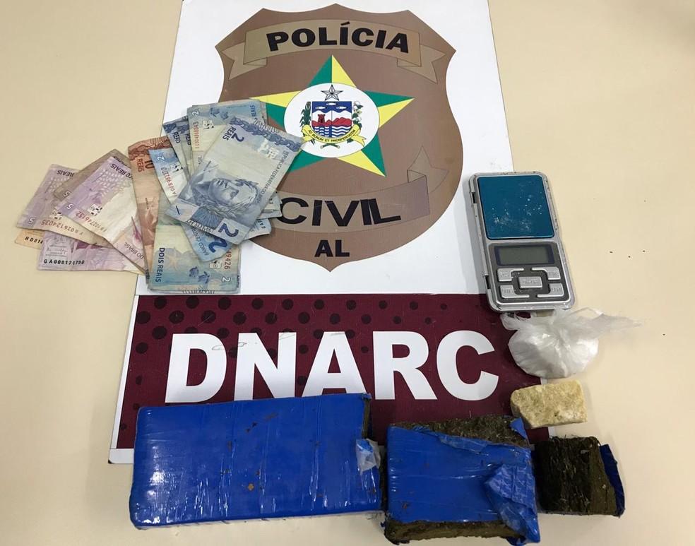 Polícia prende cunhados por tráfico de drogas no Benedito Bentes, em Maceió