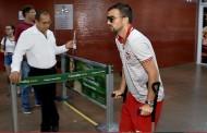 Rafael Longuine faz fisioterapia no Santos e diz que ainda é cedo para falar sobre volta ao CRB