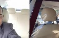 Motorista de Uber cria 'carro à prova de covid-19' na Bahia