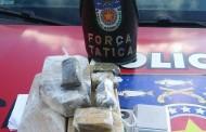 Adolescente é apreendido com 1,4 kg de maconha dentro de casa em Maceió