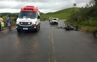 Duas pessoas ficam feridas em acidente na AL-105, em Porto Calvo