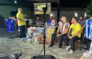 André Nunes faz arrecadação e distribui cestas básicas para atletas desempregados