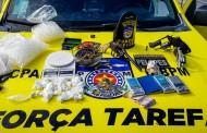 Operação prende foragido da justiça e três suspeitos de tráfico de drogas em Porto de Pedras, AL