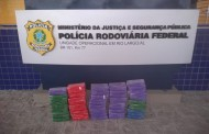 PRF apreende mais de 50 kg de pasta base de cocaína dentro de carro na BR-101, em Rio Largo, AL