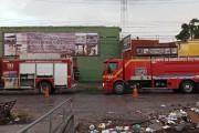 Princípio de incêndio atinge madeireira na Levada, em Maceió