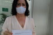 Fabiana Pessoa aguarda Câmara de Vereadores para tomar posse como prefeita de Arapiraca, AL