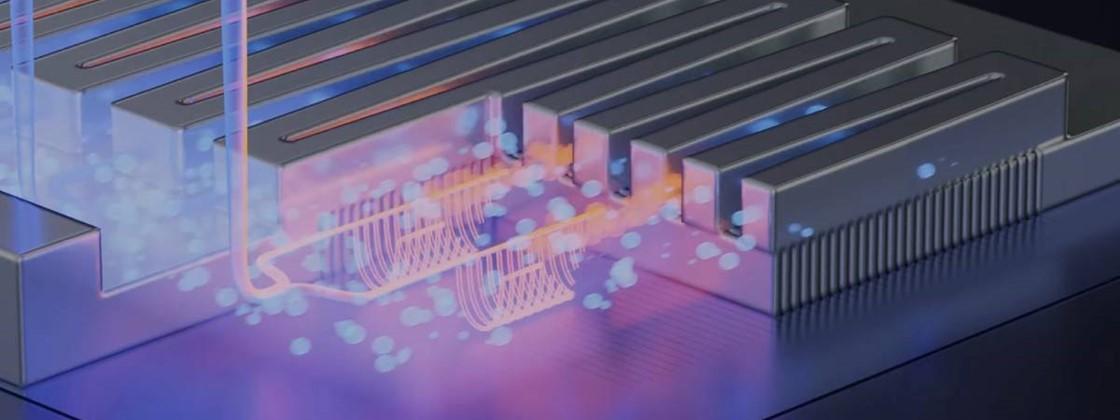 Cientistas desenvolvem chip com resfriamento líquido interno