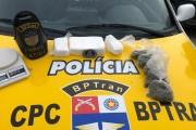 BPTran apreende drogas avaliadas em mais de R$ 30 mil no Tabuleiro do Martins, em Maceió
