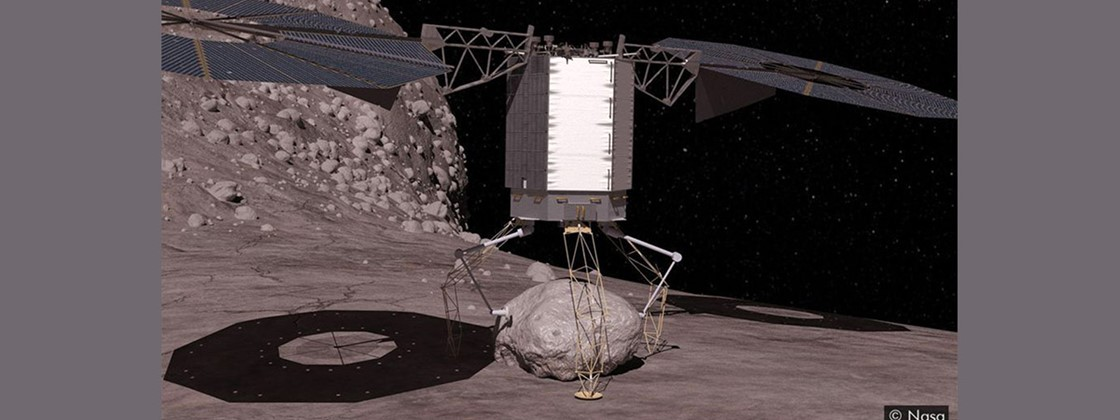 NASA: rochas coletadas em excesso do asteroide entornam no espaço