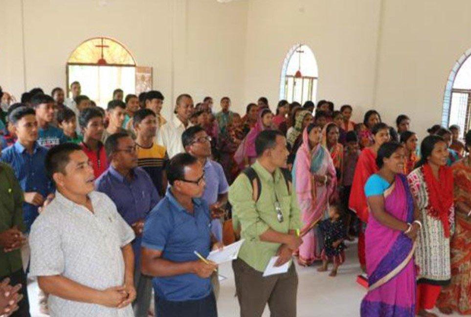 Cristãos de Bangladesh protestam contra o terrorismo islâmico