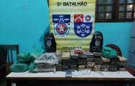 Dupla é presa com 28 kg de maconha no Benedito Bentes, em Maceió