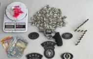 Adolescente é apreendido em Arapiraca, AL, suspeito de tráfico de drogas