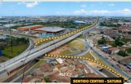 Segundo túnel do Viaduto da PRF será interditado a partir desta terça (06) para instalação da iluminação definitiva