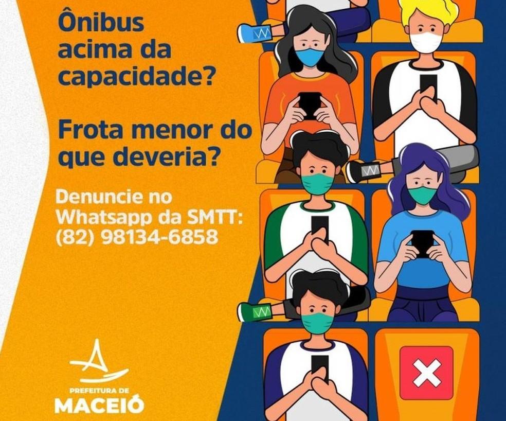 SMTT recebe denúncias de irregularidades no transporte coletivo em Maceió através de aplicativo