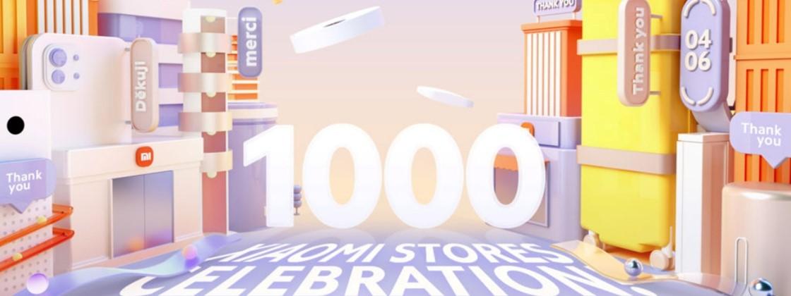 Xiaomi comemora 1 mil lojas abertas em todo o mundo