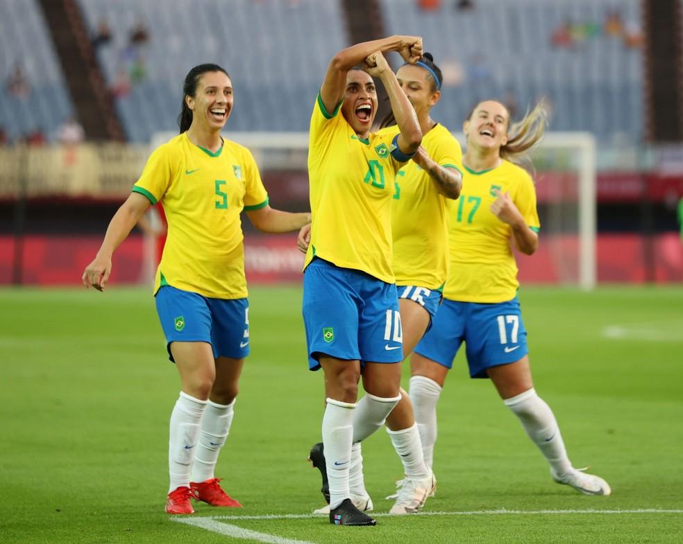 Resumo Olimpíadas: goleada do Brasil, recorde de Marta e nova sede